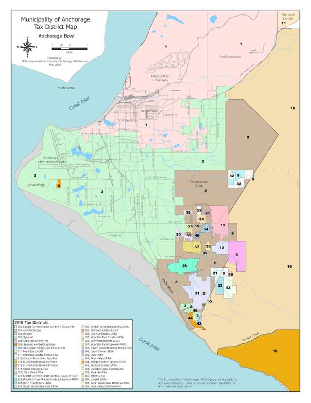 MOA Property Tax District Map